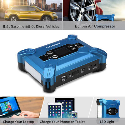 20000mAh Batterie Booster car Starter Jump Chargeur Démarrage Voiture Power Bank