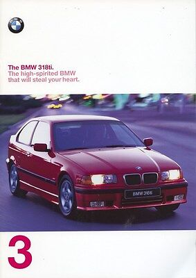1998 BMW 318ti Sport & Active Brochure d0764