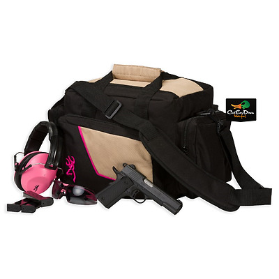 New Browning Cimmaron Ii For Her Shooting Range Gear Bag Buckmark Logo Pink