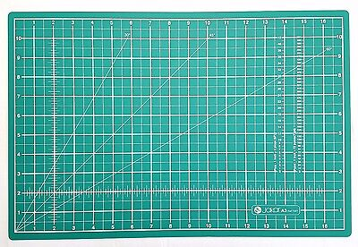 A3 Cutting Mat Self Healing Craft Quilting Grid Lines Knife Cut Board 45 x 30cm