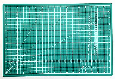 Jakar A3 Cutting Mat Self Healing Craft Quilting Grid Knife Cut Board 45 x 30cm