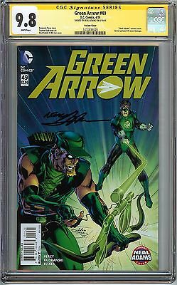 Green Arrow #49 CGC 9.8 NM/MT DC SIGNED NEAL ADAMS Variant Green Lantern #76