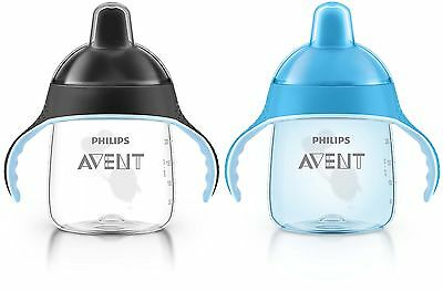 Philips Avent My Penguin Sippy Cup Blue 9 Ounce (Pack of 2) Stage 2