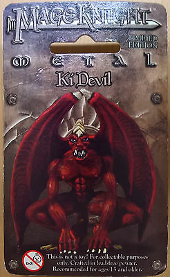 WizKids Mage Knight Metal - 544 Ki Devil Limited Edition (Sealed)