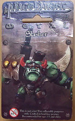 WizKids Mage Knight Metal - 536 Slasher Limited Edition (Sealed)