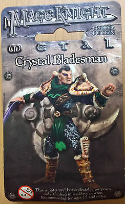 WizKids Mage Knight Metal - 506 Crystal Bladesman Limited Edition (Sealed)