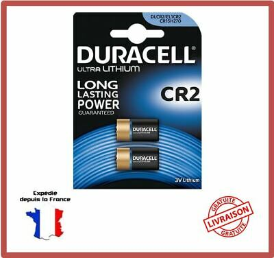 Piles CR2 / DLCR2 / CR15H270 EL1CR2  Duracell Photo Lithium 3V Blister Exp 2027