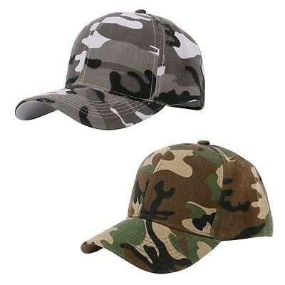 Quality Camouflage Cap Hat Navy Military Camping Hiking Bush Baseball Tent Fire