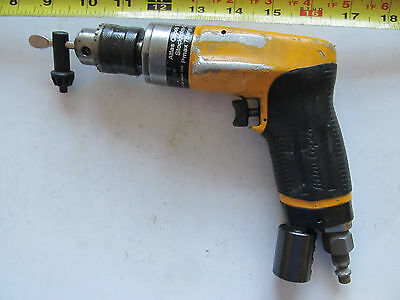 "Aircraft tools Atlas Copco 6000 RPM drill with Jacobs chuck 3/64"" to 3/8"""
