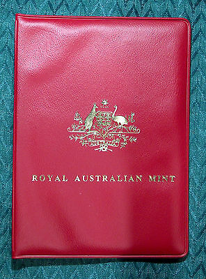 1979 ROYAL AUSTRALIAN MINT 6 COIN UNCIRCULATED SET Red Wallet PERFECT condition