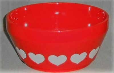 Waechtersbach HEART PATTERN Serving or Vegetable Bowl WEST GERMANY