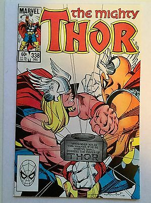 Thor #338 VF or better high grade comic book