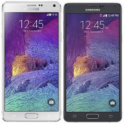 Samsung Galaxy Note 4 IV SM-N910V Verizon Factory Unlocked Black or White