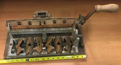 VINTAGE Barn Find~PACKAGING EQUIPMENT DIVISION?~Antique Egg Carton Maker~Rare