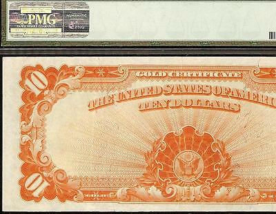 LARGE 1922 $10 DOLLAR BILL GOLD CERTIFICATE COIN NOTE CURRENCY Fr 1173 PMG CHOI