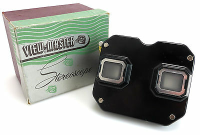 Sawyers View Master 3D Stereoscope Viewer: Model C 1946-1955 Stereo + OVP bo098