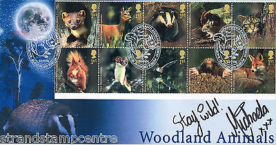 2004 Woodland Animals - Scott (Blue) Official - Signed MICHAELA STRACHAN