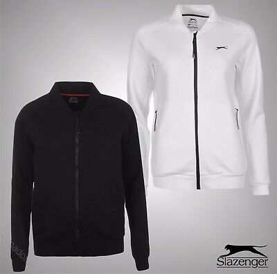 Ladies Branded Slazenger Sport Baseline CoolPass Tennis Tracksuit Top Size 8-14
