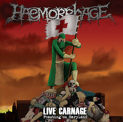 HAEMORRHAGE - Live Carnage - Feasting On Maryland - LP - GOREGRIND