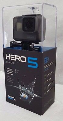 GoPro HERO5 Action Camera Black Edition - 4K HD 12MP - Waterproof  - WIFI