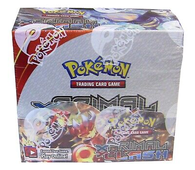 Pokemon TCG XY Primal Clash Expansion #5 Booster Box with 36 packs