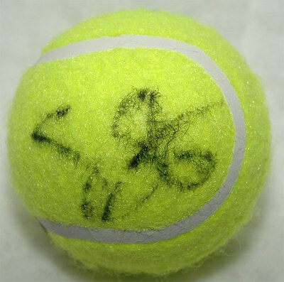 Samantha Stosur Tennis autograph, In-Person signed Tennis Ball