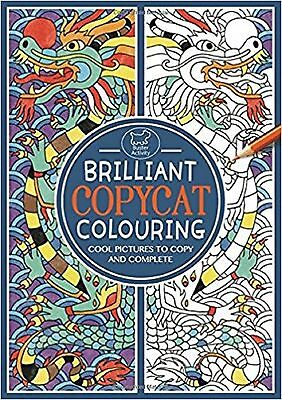 Brilliant Copycat Colouring Book, Cool Pictures to Copy and Complete, New