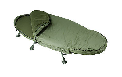 Trakker NEW Levelite Oval Complete Bed & Bag System Fishing Bedchair - 217505