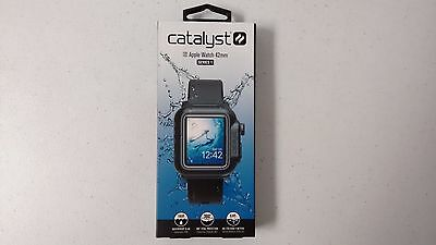Catalyst Series 1 Waterproof Case and Band for Apple Watch 42mm - Black  READ