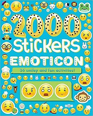 2000 Stickers Emoticon: 36 Smiley and Fun Activities!, New Book