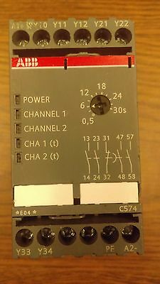ABB C574 Emergency Stop Device Safety Relay