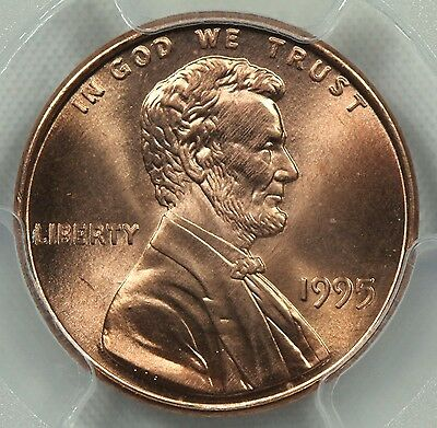 PCGS MS67 RD 1995 DOUBLED DIE OBVERSE LINCOLN MEMORIAL CENT DDO RED 1c    (EN52)