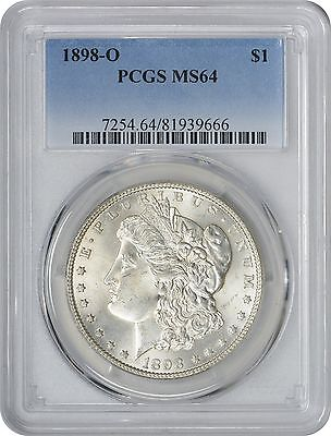 1898-O Morgan Dollar MS64 PCGS