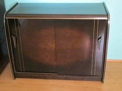 1950`s mid century modern cabinet from Germany 50`s Rockabilly