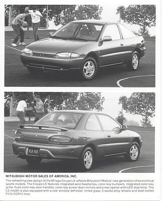 1993 Mitsubishi Mirage Coupe LS ORIGINAL Factory Photo oub1788