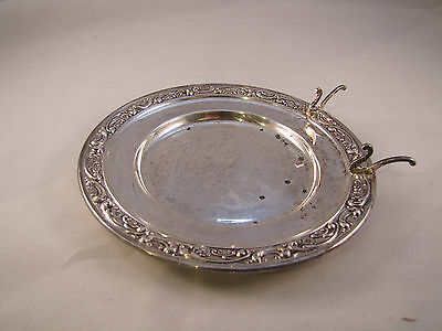 Gorham Sterling #1237 Bread And Butter Tray With Knife Rest