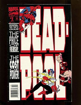 Deadpool The Circle Chase Ltd Ser #2 (Newsstand) FVF Juggernaut Weapon X Copycat