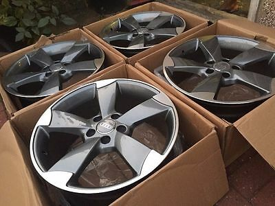 "Rotor Alloys Grey 18"" fits Audi VW + others"