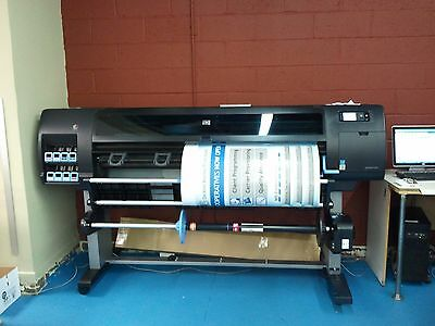 "Used 60"" Hp Designjet Z6200 Non-Postscript Printer Plotter 771 Ink Cartridge"