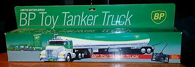 1992 Bp Toy Tanker Truck Limited Edition Series, Wired Remote Control New In Box