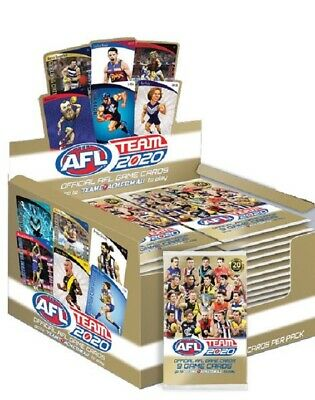 2017 Afl Teamcoach Team Coach Footy Trading Cards Factory Sealed Box 36 Packs