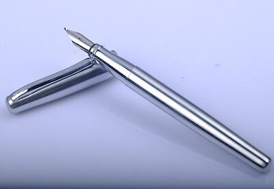 Duke 209 Stainless Steel Calligraphy Fountain Pen
