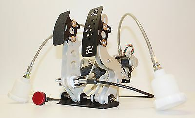 2 Pedal, Sports Car Pedalbox, Fbw / Dbw Throttle, Floor Mount #pe-004-1001