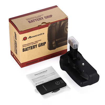 Powerextra BG-E16 Battery Grip Replacement for Canon EOS 7D mark II with Remote