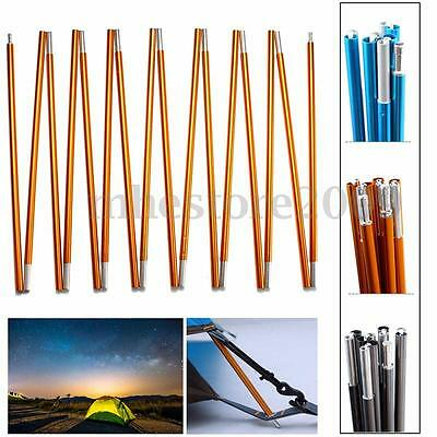 8.5/9.5/11mm Aluminum Alloy Spare Replacement Camping Tent Poles 9-16 Sections