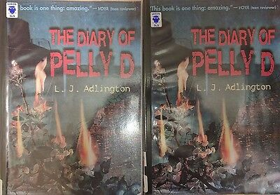 The Diary of Pelly D by L J Adlington Paperback, 2008, EXTRA LARGE PRINT: 2 Vols