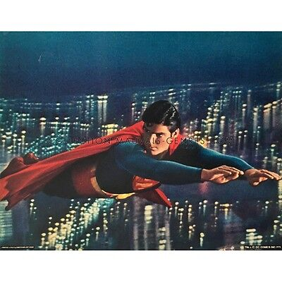 SUPERMAN DeLuxe Lobby Card 11x14 in.  - N03 1978 - Richard Donner, Christopher R