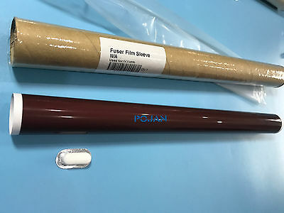 FUSER FILM SLEEVE Xerox DocuColor 242 250 252 260 5065 7550 7600 6550  + Grease