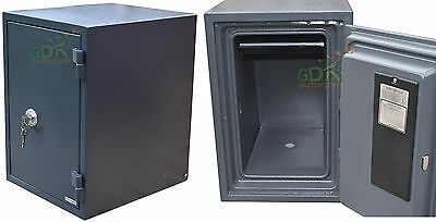 Gdk,large,key Lock Fireproof Security Safe, 1 Hour Fireproof,home,office,cabinet