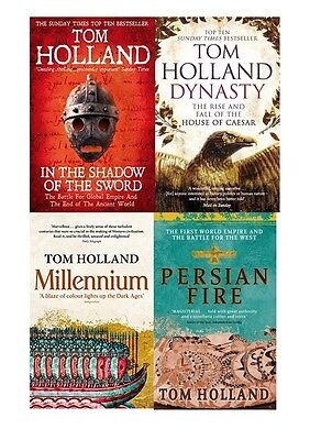 Tom Holland Set Collection of 4 Books **NEW & SEALED**
